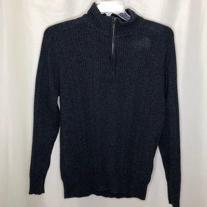 Oscar De La Renta Men's 1/4 Zip Sweater